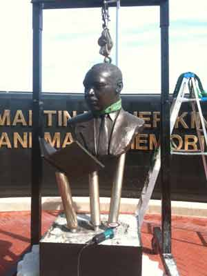Restoration of Martin Luther King monument for a City of West Palm Beach